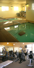 hydroworx pool and peterson physical therapy therapy room